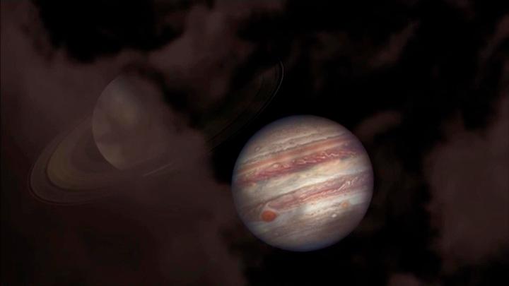 Встреча после 20-летней разлуки: Сатурн и Юпитер максимально сблизились