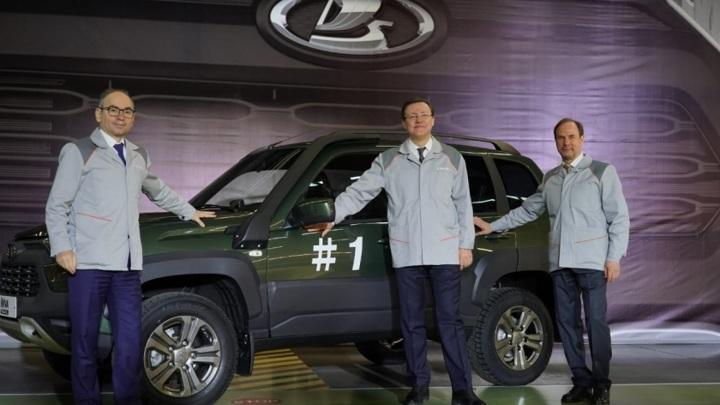 """""""АвтоВАЗ"""" начал производство новой Lada Niva"""