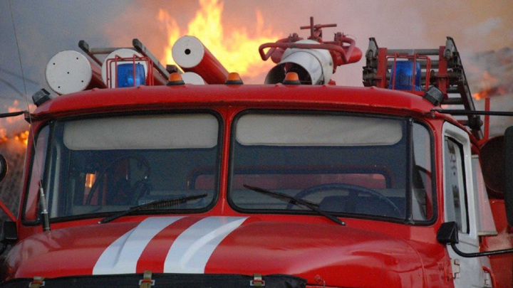 Пожар на западе Москвы вызвал обрушение конструкция здания