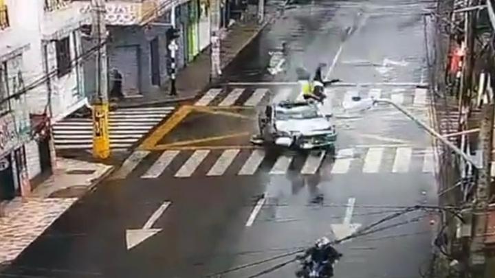 Водитель-наркоман устроил фатальное ДТП с мотоциклистами. Видео
