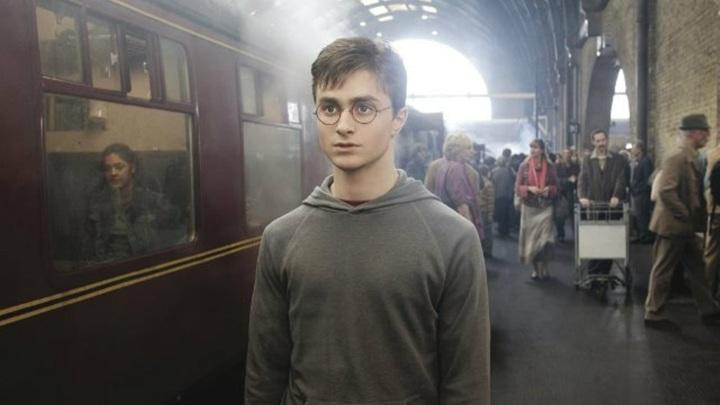 """Дэниел Рэдклифф. Кадр из фильма """"Гарри Поттер и Орден Феникса"""""""