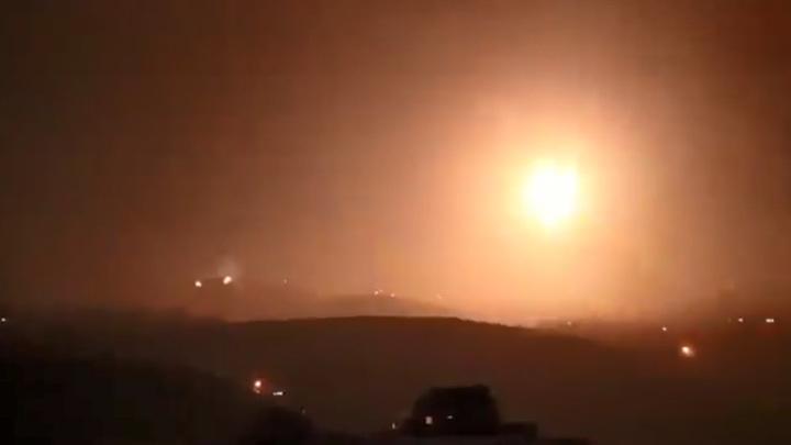 Израиль нанес по Сирии очередной ракетный удар