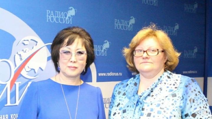 Светлана Чойжинимаева и Ольга Копылова