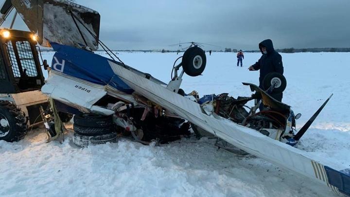 Выживший при столкновении самолетов пилот попал в больницу