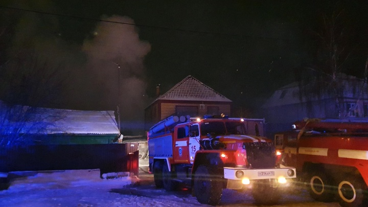 В Тюменской области расследуют причины пожара в жилом доме