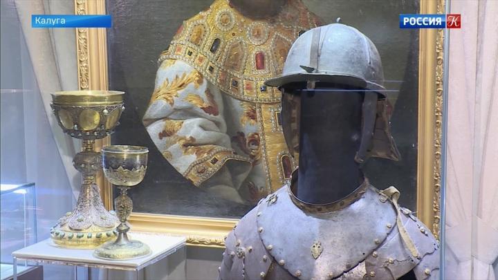 История Калужского края представлена в краеведческом музее «Усадьба Золотаревых»