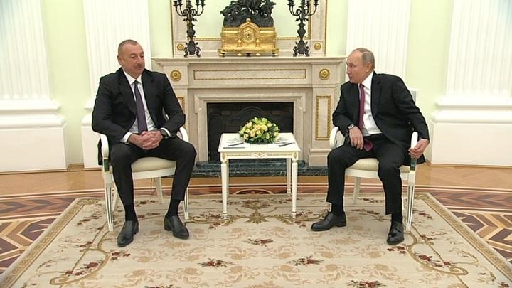 Путин встретится с Алиевым и поговорит о Карабахе