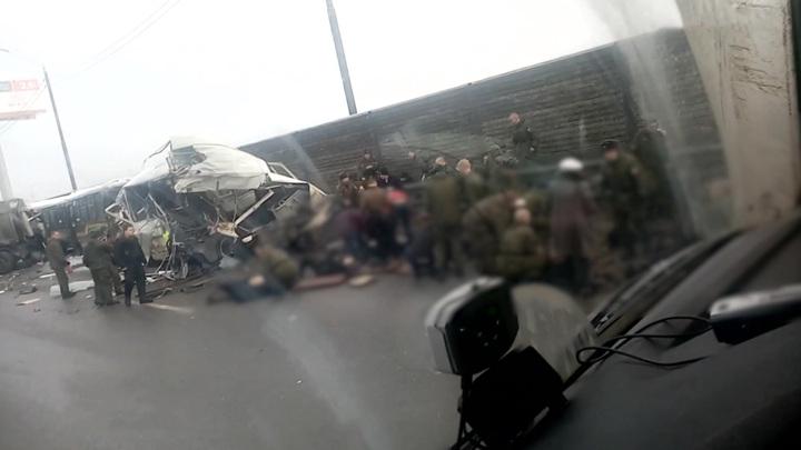 Авария на Новой Риге: пострадавших вывозили в госпиталь вертолетами