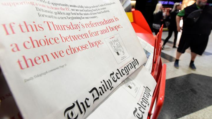 Умер владелец The Daily Telegraph