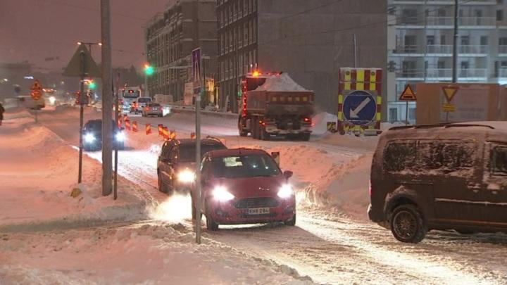 Европа оказалась в снежном плену