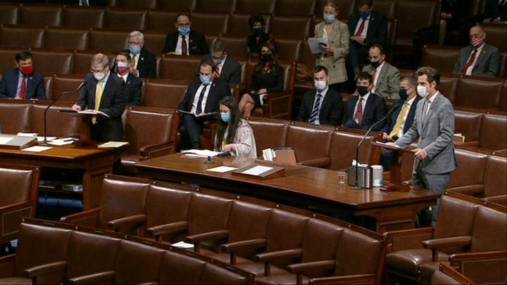 Палата представителей Конгресса США проголосовала за импичмент Трампа