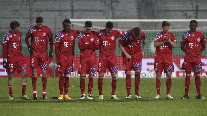 """""""Бавария"""" покинула Кубок Германии, проиграв клубу второй Бундеслиги"""
