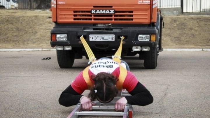 В Ставрополье женщина возьмет на буксир автопоезд