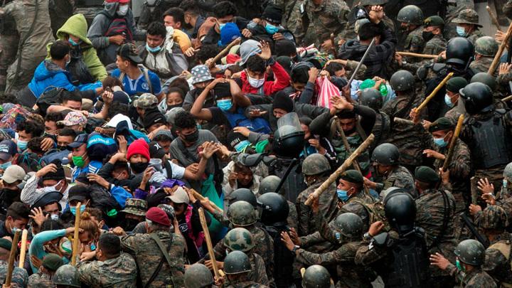Мигранты из Гондураса рассчитывают на гостеприимство Байдена