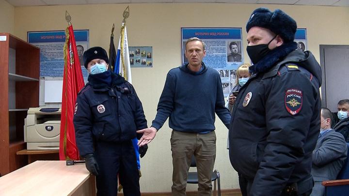 Кремль: вину Навального в преступлениях может признать только суд