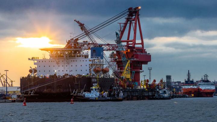 """""""Северный поток-2"""": в Берлине заявили о сожалении из-за планов санкций США"""