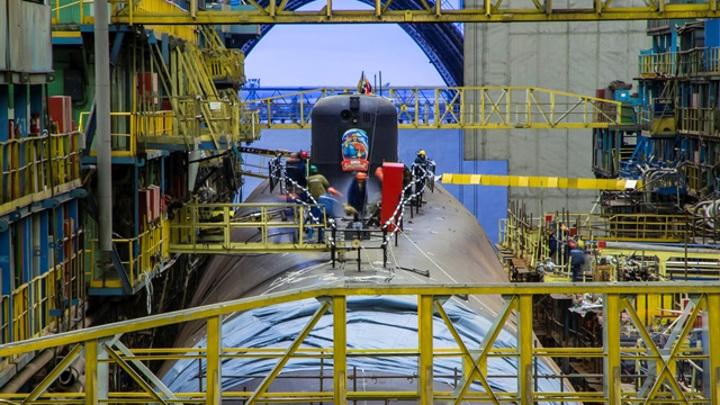 Российские атомные подлодки будут строить быстрее