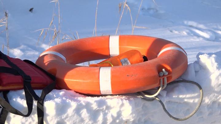 Трагедия на Волге: в полынью провались двое детей