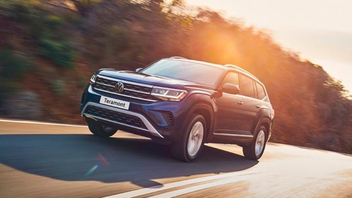 Новый Volkswagen Teramont в России получит четыре комплектации