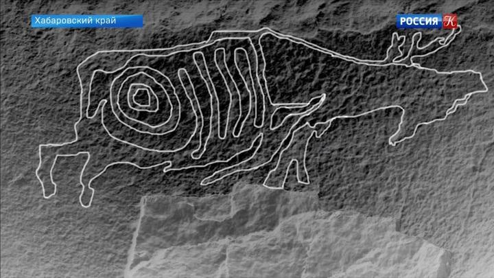 В Хабаровском крае обнаружены неизвестные прежде наскальные рисунки