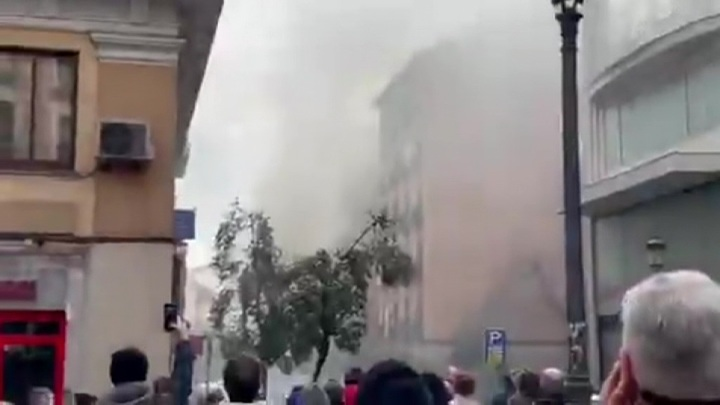 В столице Испании прогремел мощный взрыв