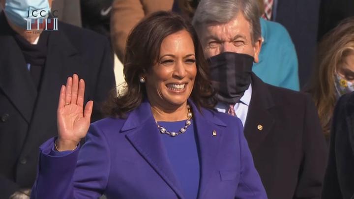 Камала Харрис вступила в должность вице-президента США