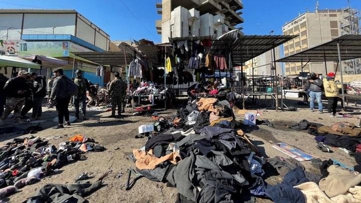Жертвами двойного теракта в Багдаде стали 35 человек