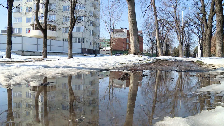 Весна в Москве будет наступать медленно