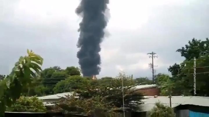 В Колумбии взорван нефтепровод
