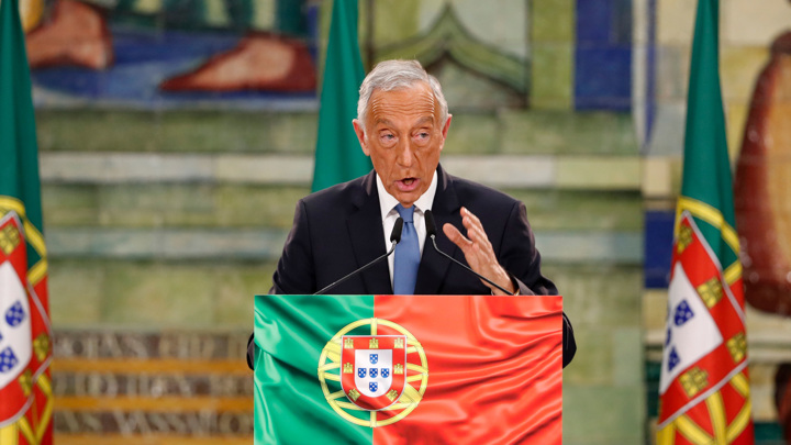 Президент Португалии переизбран на второй срок