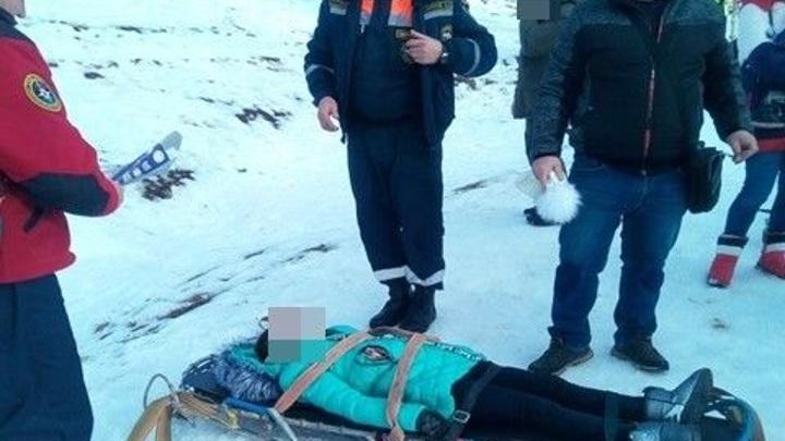 "На склоне Ай-Петри девочка получила травму, катаясь на ""ватрушке"""