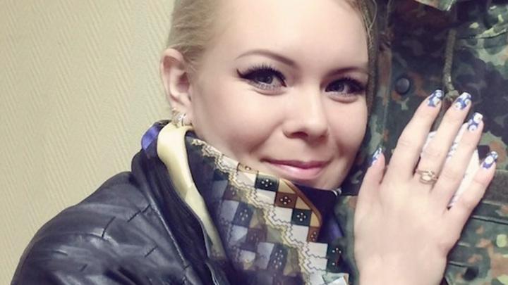 "Александра Бондаренко. Кадр из программы ""Прямой эфир""."