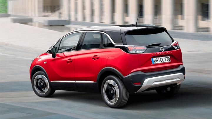 "Opel начнет весной продажи ""доработанного"" Crossland"