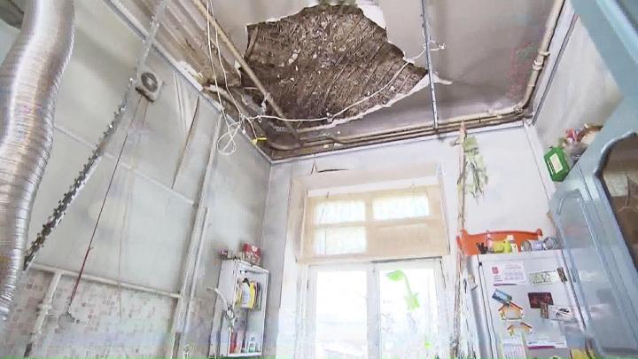 Обрушением потолка в Балашихе займутся следователи