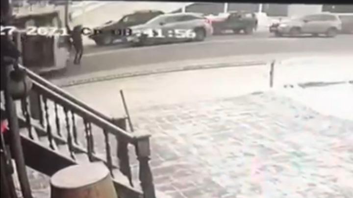 Появилось видео смертельной аварии с троллейбусом в Иркутске