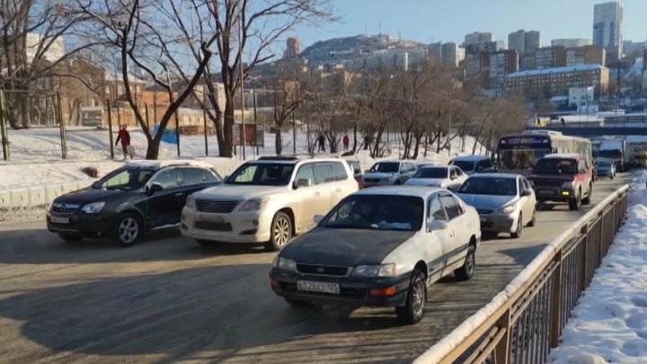 Во Владивостоке ожидается сильный снегопад