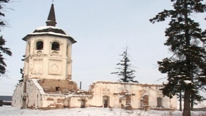 В Иркутской области восстановят один из самых старых каменных храмов