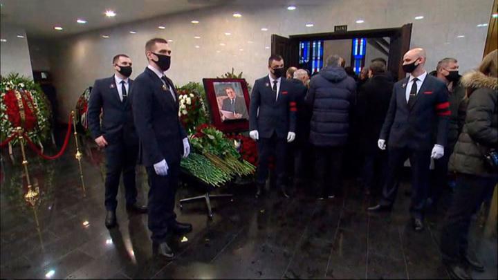 В Москве простились с бывшим вице-премьером Сергеем Приходько