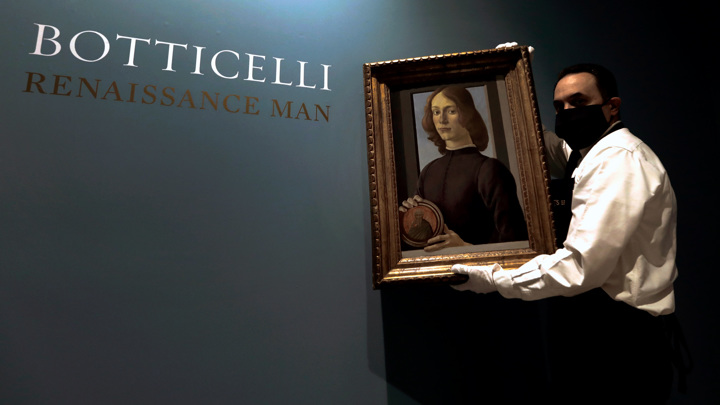 Картина Боттичелли продана за рекордные 92 миллиона долларов