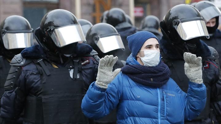 ФСБ: участники протестов могут стать целью террористов