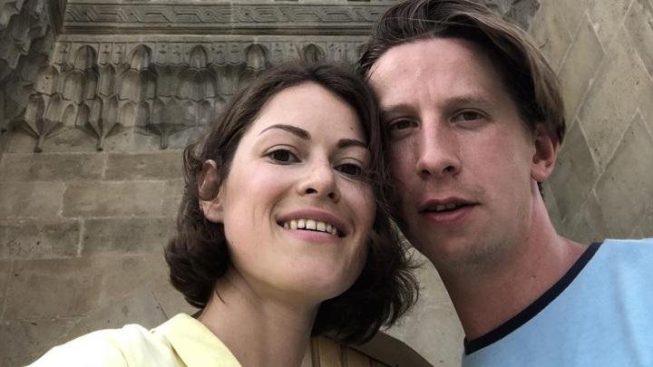 Дмитрий Лысенков с женой Марией