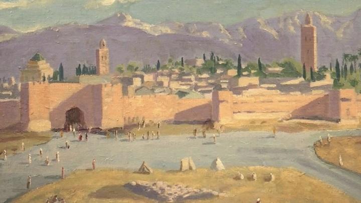 Картину Уинстона Черчилля выставят на аукцион