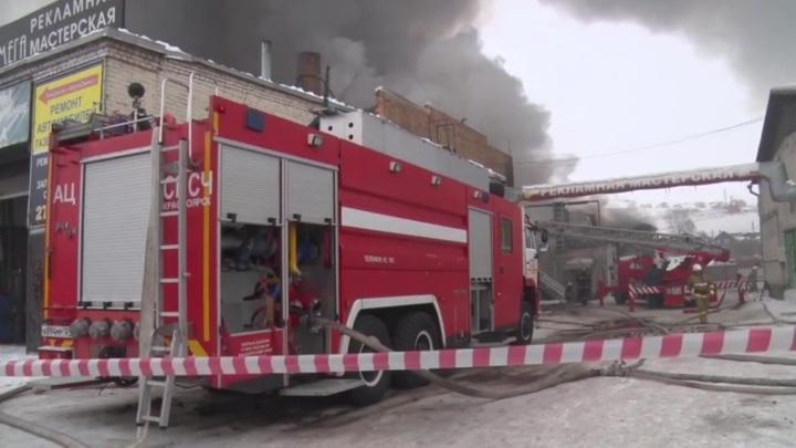 Причиной пожара в Красноярске мог стать аварийный режим работы электросети