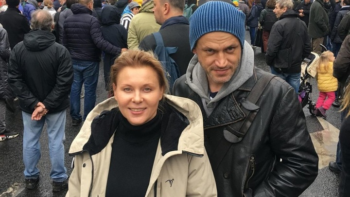 Актриса Яна Троянова и режиссер Василий Сигарев