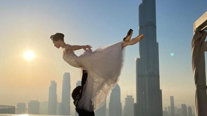 Артисты балета из Марий Эл приняли участие в уникальной фотосессии в Дубае