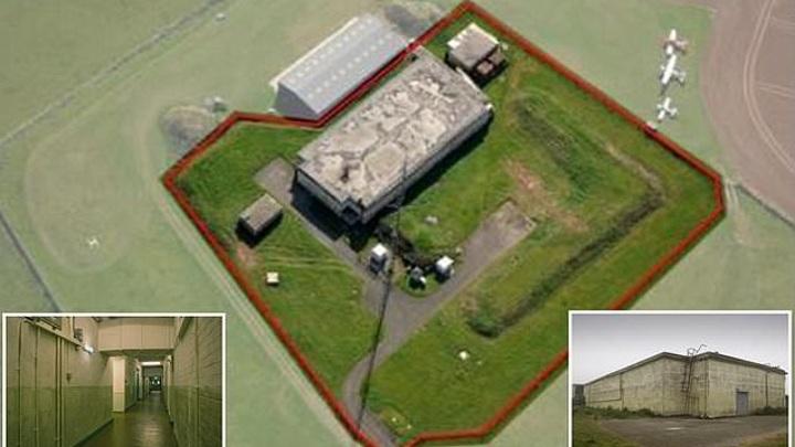 В Англии на торги выставили бункер с бомбоубежищем