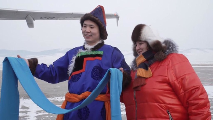 Чартеры на Байкал: первым туристам очень повезло с погодой
