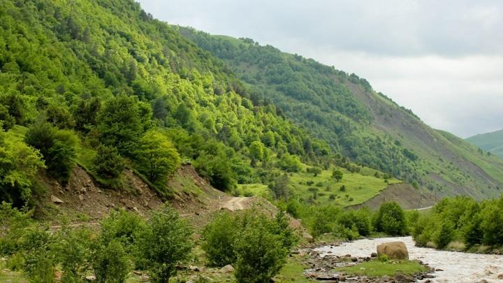 Группа из 14 человек пропала в горах в Чечне