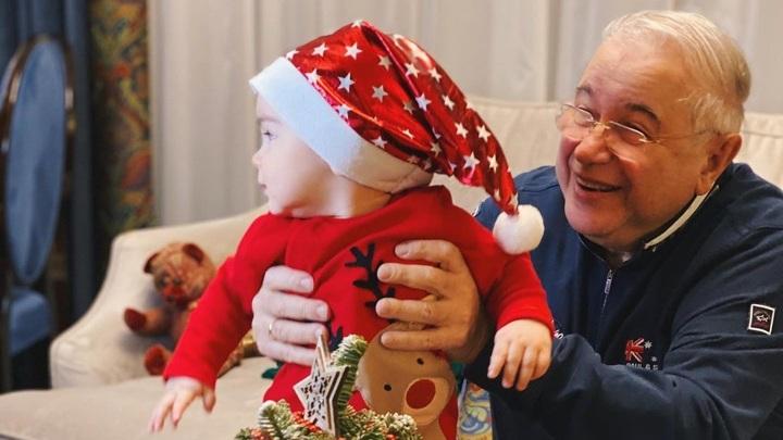 Евгений Петросян с сыном Ваганом