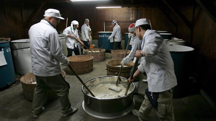 Землетрясение остановило японские пивоварни